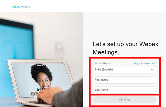 How to create a Webex meeting