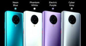 Poco F2 Pro Colors