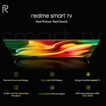 Realme Smart TV, Buds Air Neo, and power bank launched in India