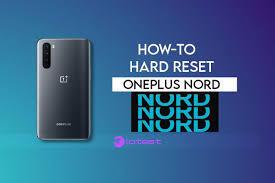 Reset OnePlus Nord