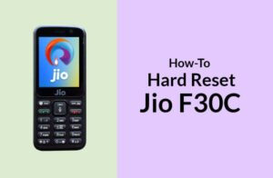 How to Hard Reset Jio F30C aka LYF F30C